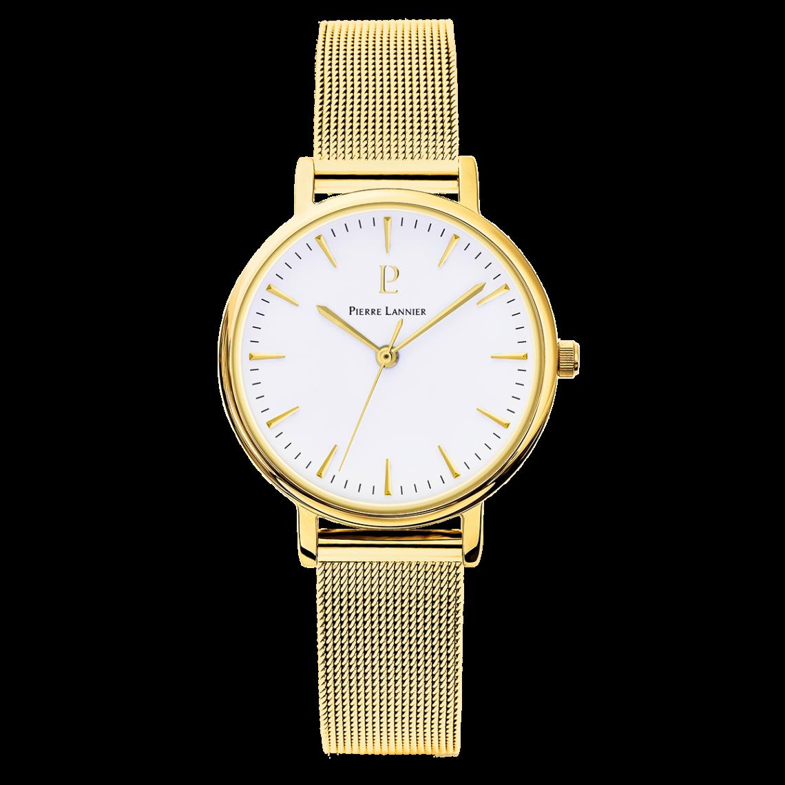 Montre 093L508 - Montre Bracelet Acier Or Montres - Pierre Lannier - Modalova