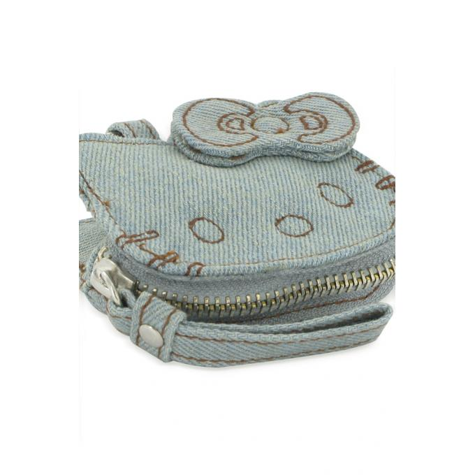 Porte-monnaie Hello Kitty denim - Hello Kitty by Victoria Couture - Modalova