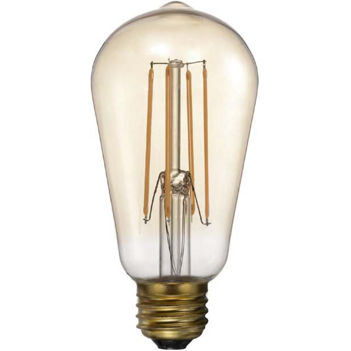 Vintage Led Rétro Vertical Alpha Ampoule 8kn0wOP