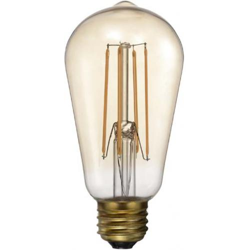3S. x Home - Ampoule LED Rétro Vintage Vertical ALPHA - Industriel
