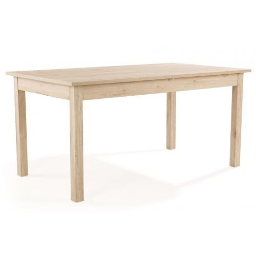 3S. x Home - Table à Manger Extensible 2 Rallonges Bois 160x90 HEATHER - Table extensible