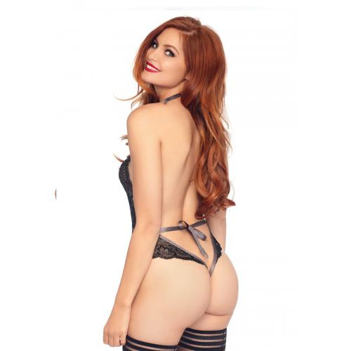 Leg Avenue - Body string decollete en V - Lingerie sexy femme