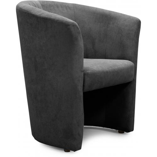 3S. x Home - Fauteuil Cabriolet Anthracite BUZZ - Fauteuil