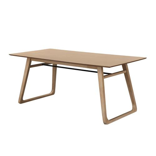 3S. x Home - Table à manger Bois 180cm FRAYN - Table
