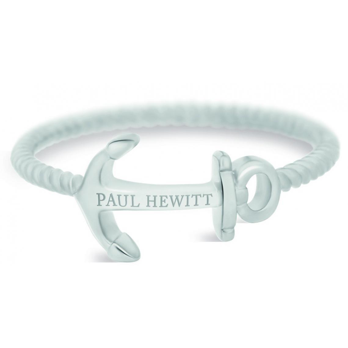 Bague Paul Hewitt PH-FR-ARO-S - Bague Anchor Rope Acier - Paul Hewitt Bijoux - Modalova