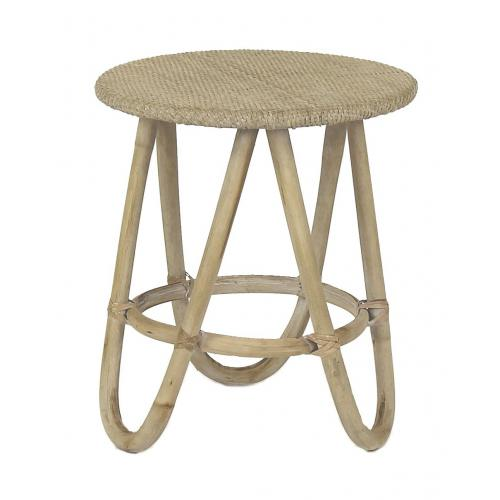 Pomax - Table Basse Rotin OMACA - Table basse