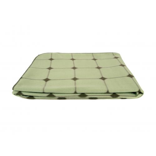 3 SUISSES - Plaid A Carreaux Vert QENO - Plaid