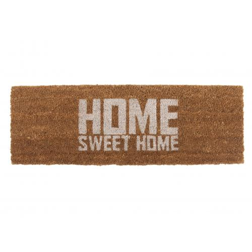 3S. x Home - Paillasson Fibres Coco Blanc Home Sweet Home SOHAG - Tapis