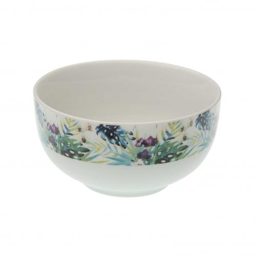 3S. x Home - Bol En Porcelaine Tropical TROPIC - Arts de la table