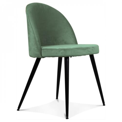 3 SUISSES - Chaise Velours Turquoise JUMBO - Bohème chic