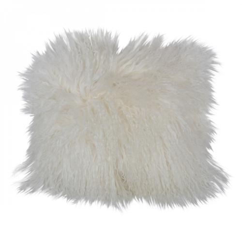 3S. x Home - Coussin Tibet Blanc YETI - Coussins