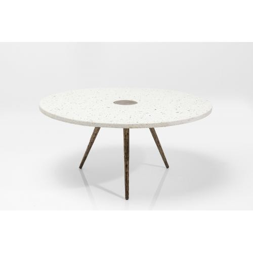 KARE DESIGN - Table Basse Terrazzo Blanc APPLETON - Table basse