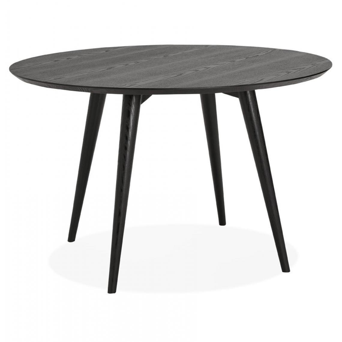 Table A Manger Ronde.Table A Manger Ronde Bois Noir Navia