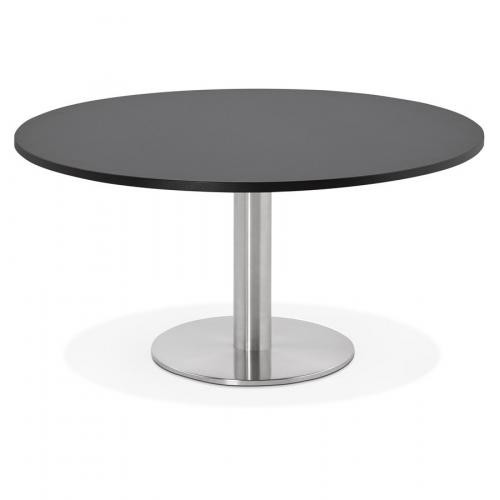 3S. x Home - Table Basse Ronde Noire BRUEL - Table basse