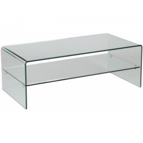 3 SUISSES - Table Basse Verre GLASSY - Promotions