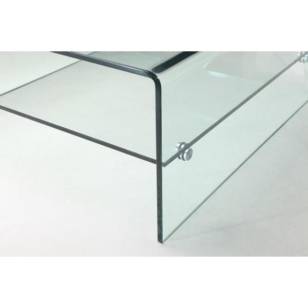 Table Basse Verre GLASSY Table basse