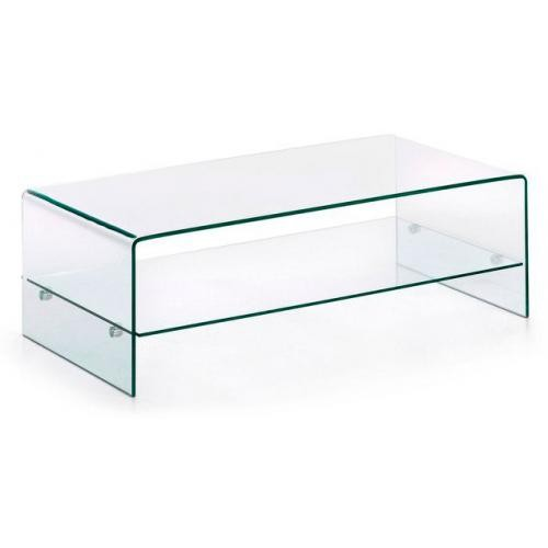 3S. x Home - Table Basse Verre PERRA - Le salon
