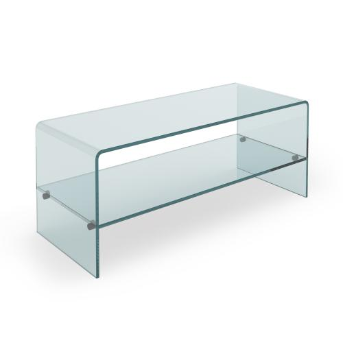 3S. x Home - Table Basse Verre PERRA - Table basse