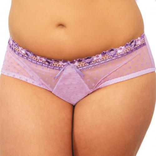 Curvy Kate - Shorty Curvy Kate PRINCESS lavande/pourpre - Culotte, string et tanga