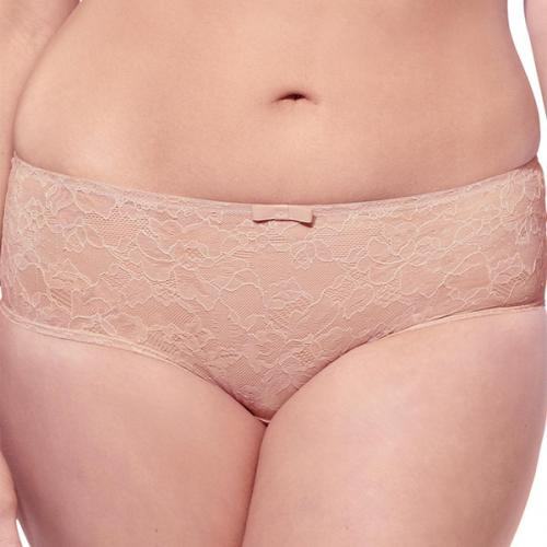 Sculptresse - Shorty Sculptresse PURE LACE nude - La lingerie