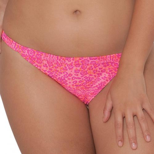 b0eee453e1 Curvy Kate Maillot - Slip de bain taille basse Curvy Kate DAZE pink mix -  Promotions