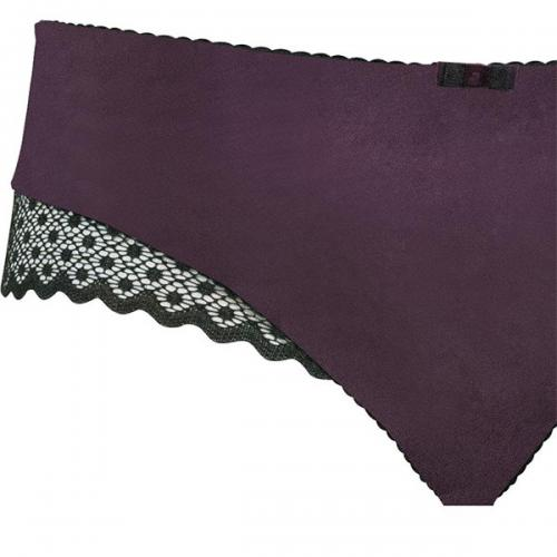 Shorty Curvy Kate Showgirl TRIXIE noir/aubergine Curvy Kate Shorties, boxers