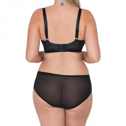 Soutien gorge corbeille Curvy Kate Showgirl TEASE black rose Curvy Kate Curvy Kate