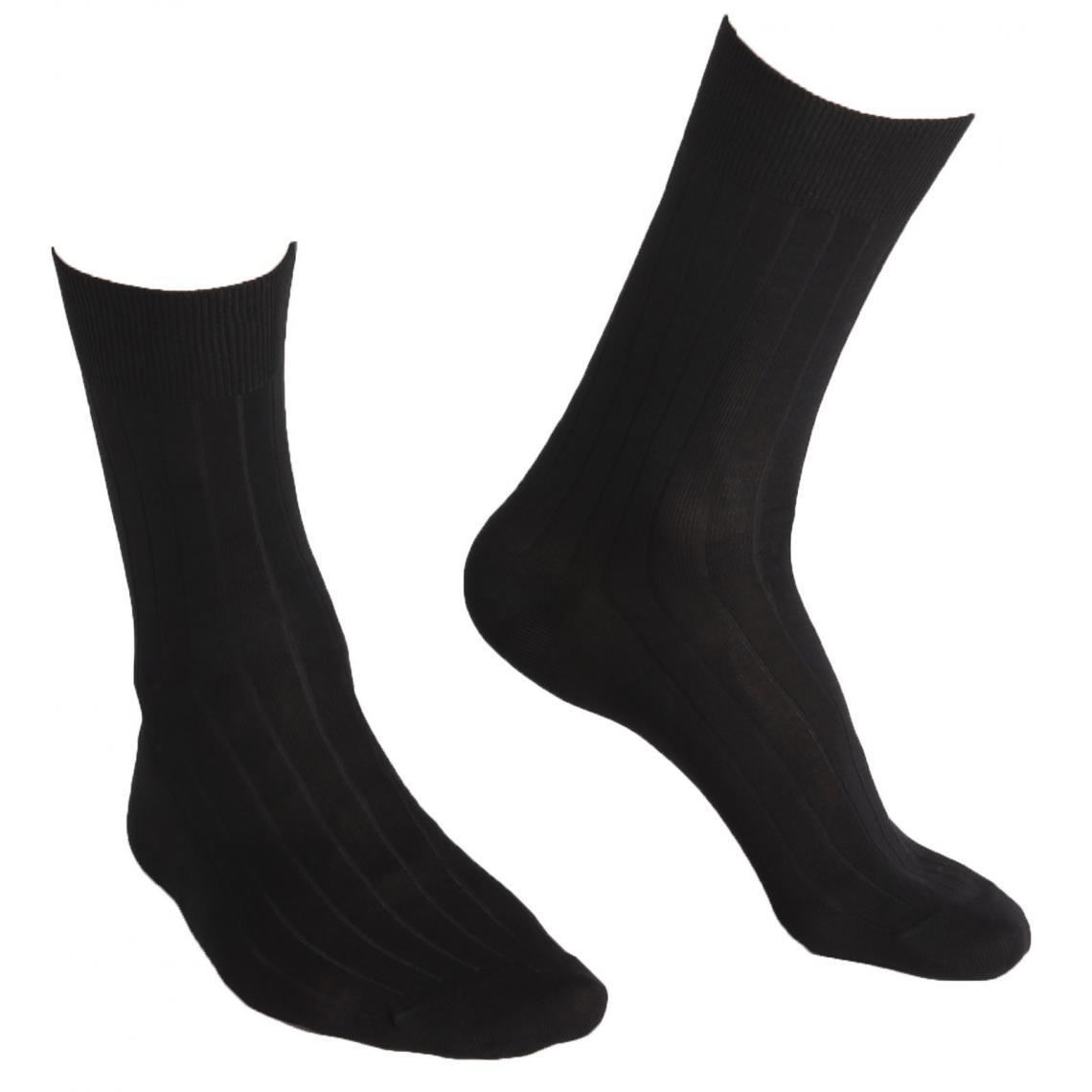 Lot de 2 paires de chaussettes fil d'Ecosse - Dim Underwear - Modalova