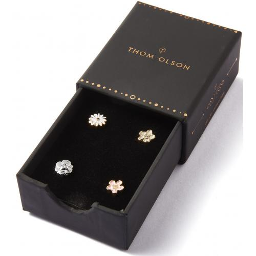 Thom Olson - Coffret Thom Olson CBTO028 - Pack de 4 Charms pour Montres Thom Olson : Composition Florale