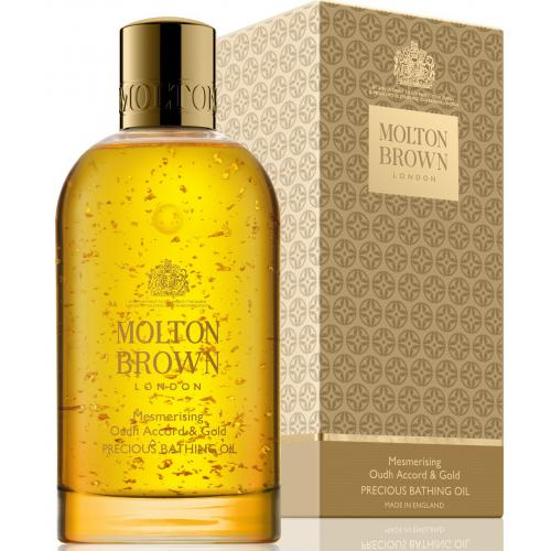Molton Brown - Huile de bain oudh accord & gold - 200ml - Beauté