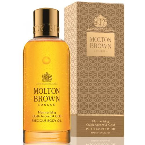 Molton Brown - Huile pour le corps oudh accord & gold - 100ml - Promotions