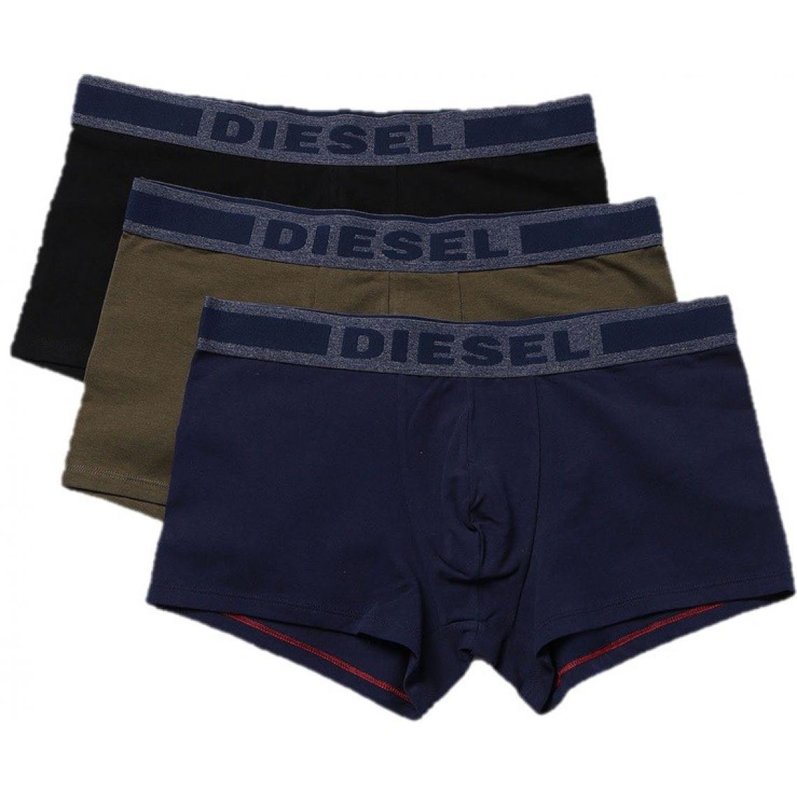 Pack de 3 boxers logotés ceinture élastique - Diesel Underwear - Modalova