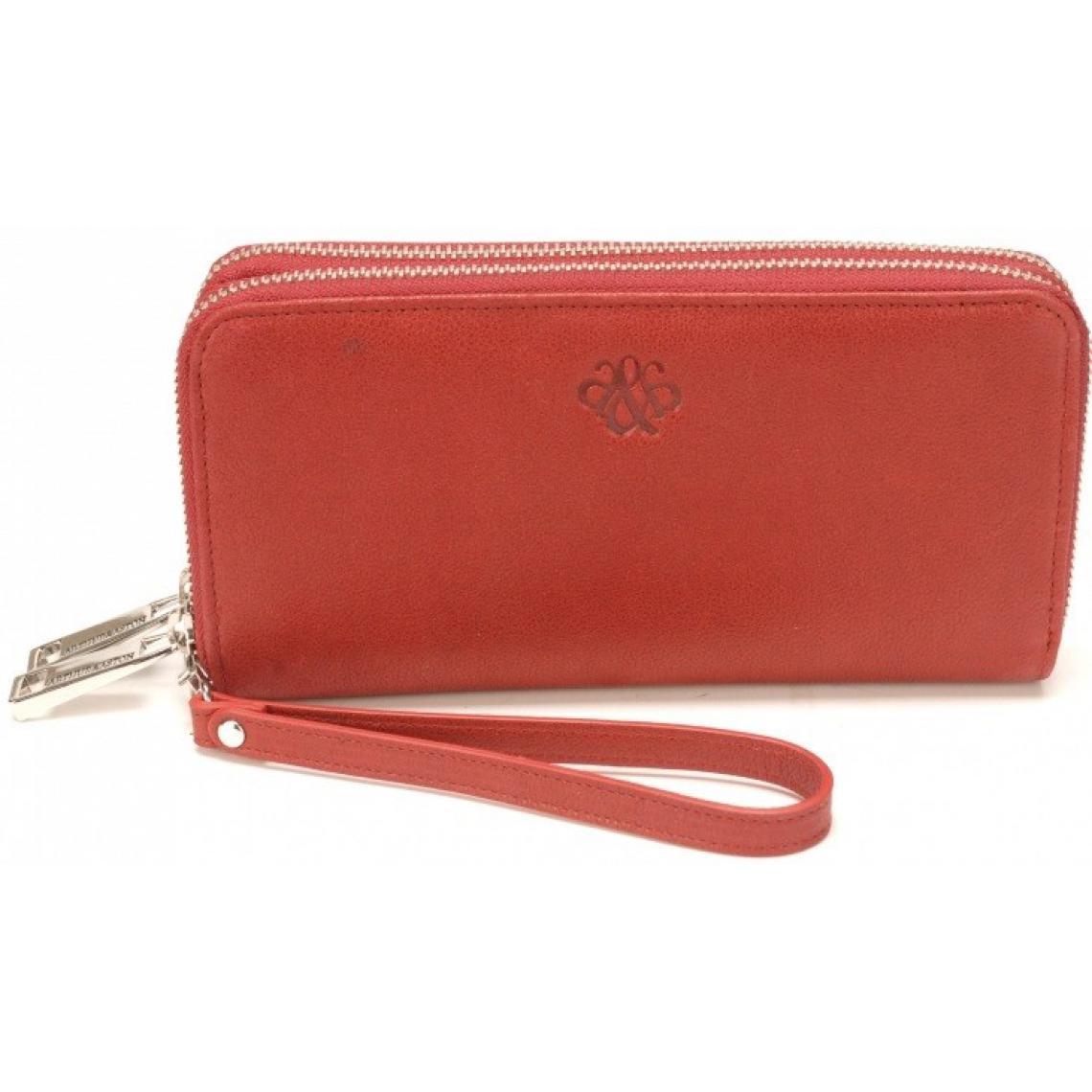 Un Prix Abordable Femmes-Porte-monnaie cuir rouge
