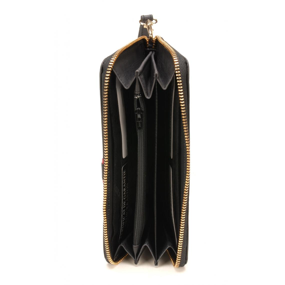 Compagnon zippé - cuir vachette hIFeD