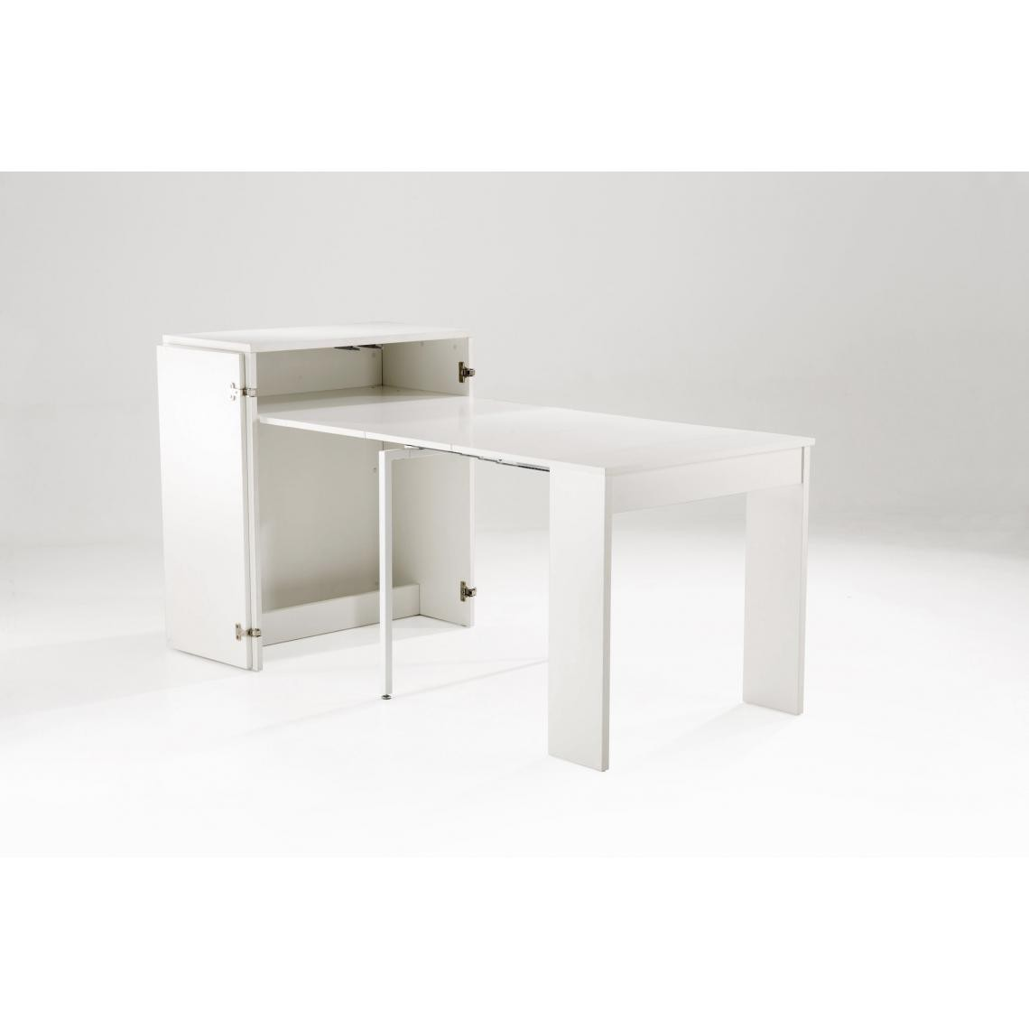 Console Extensible 4 Allonges Blanc PUNTA hcUTh