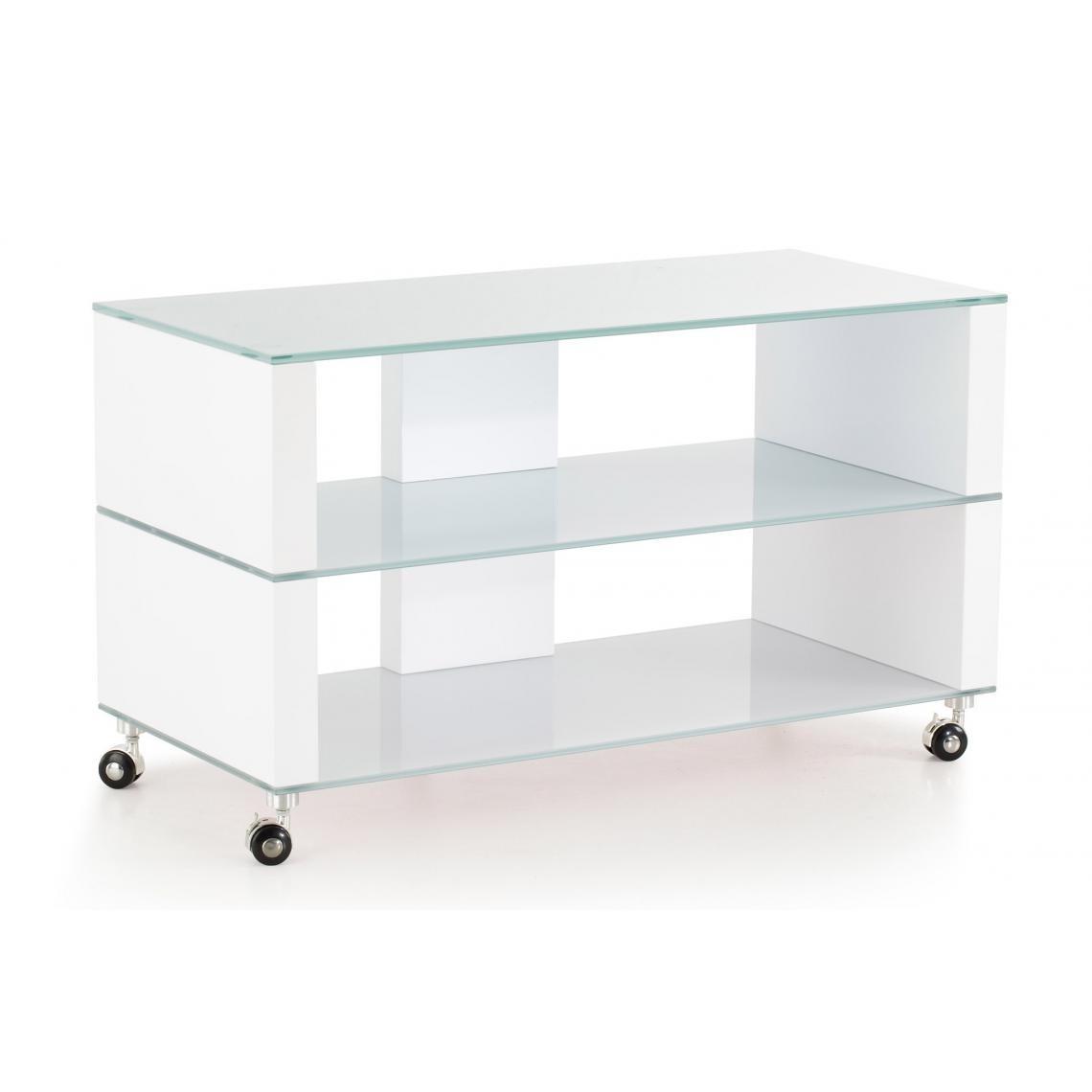 Objet Deco Laque Blanc meuble tv verre blanc laqué ivanna plus de détails