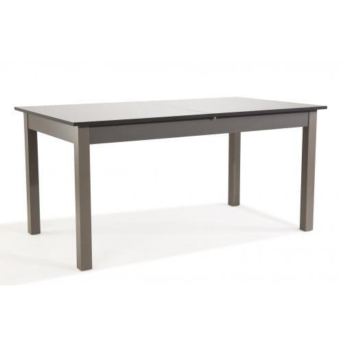 3S. x Home - Table Extensible Gris Laqué MINAYS - Table