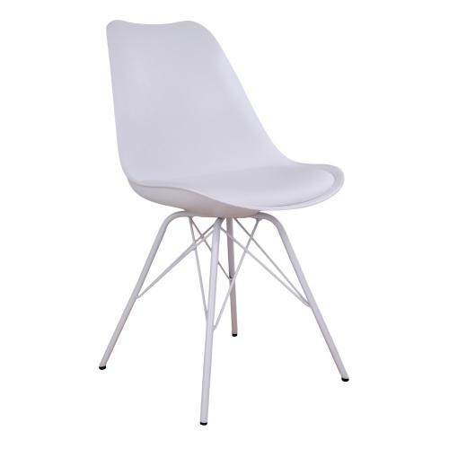 House Nordic - Chaise Design Blanche KIRSTEN - House Nordic