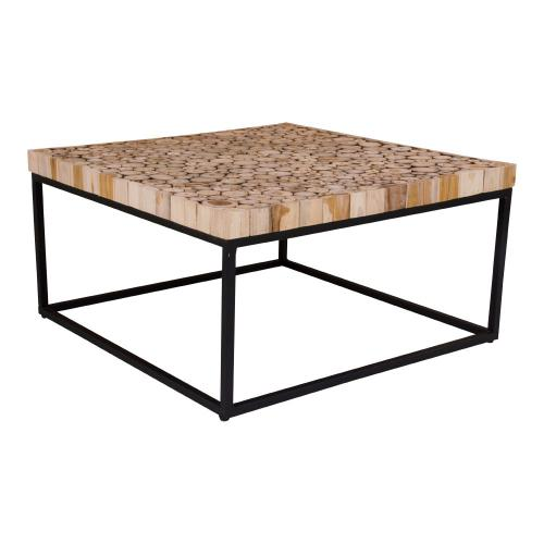 3S. x Home - Table Basse en Bois Design MARTY - Table basse