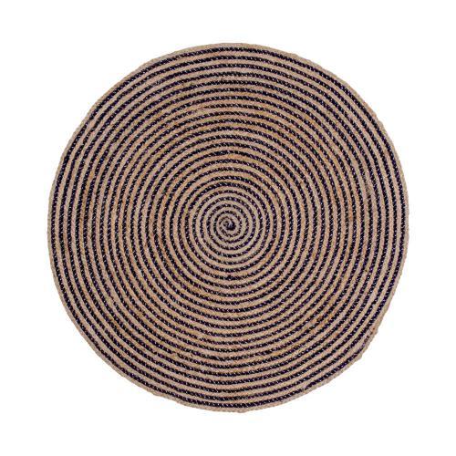tapis rond en jute d150 cm flemming 3 suisses. Black Bedroom Furniture Sets. Home Design Ideas