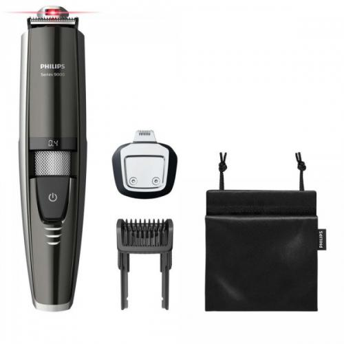 Philips Rasoir - TONDEUSE A BARBE BEARTRIMMER SERIES 9000 MULTISTYLE.METAL - Soins homme