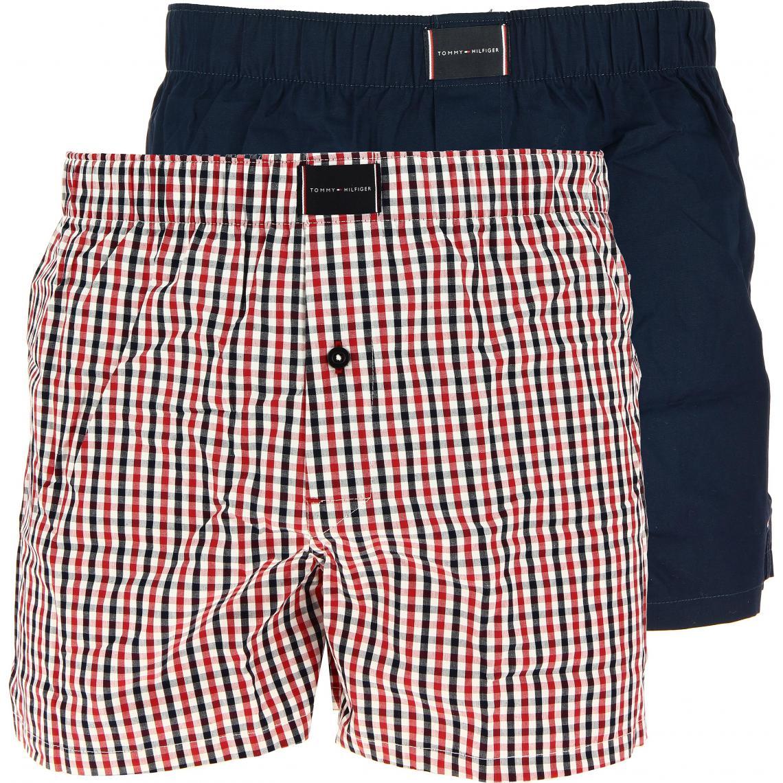 2P WOVEN BOXER CHECK Tommy Hilfiger Underwear