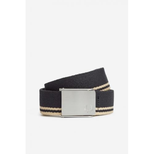 Fred Perry - CEINTURE REGLABLE RAYE FP - Fred Perry Maroquinerie