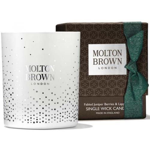 Molton Brown - FABLED JUNIPER BERRIES & LAPP PINE SINGLE WICK BOUGIE - Objets déco