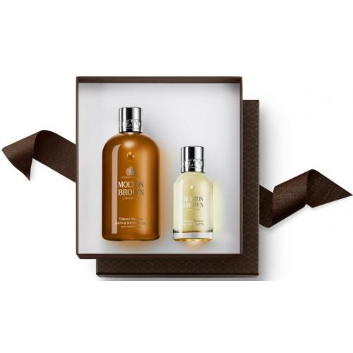 Molton Brown - TOBACCO ABSOLUTE FRAGRANCE LAYERING GIFT SET (300ml BW & 50ml EDT) - Soins homme