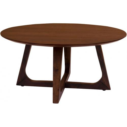 3S. x Home - Table Basse en Noyer MARTHE - Table basse