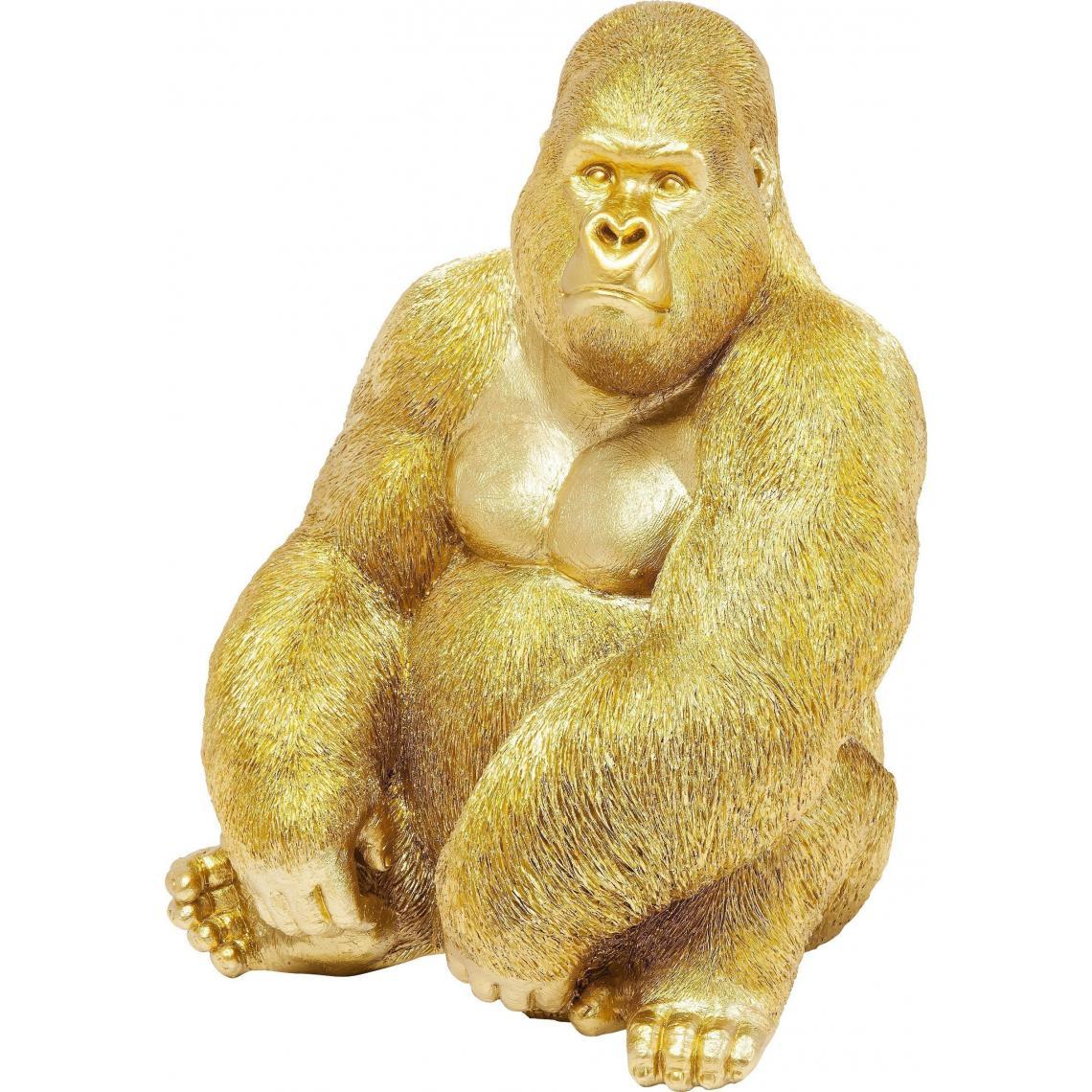 Statue Gorille Doré ULTIMO 8Dy6M