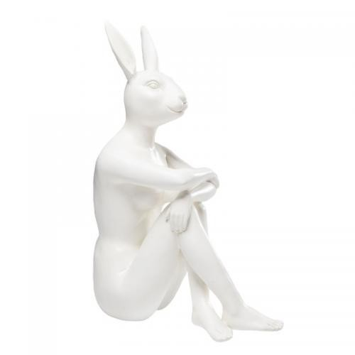KARE DESIGN - Statue Gangster Rabbit Blanc CREEK - Statue, figurine