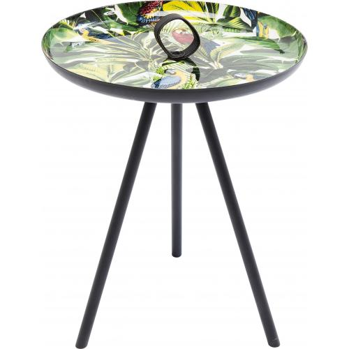 KARE DESIGN - Table d\'Appoint Imprimé Jungle MARTINA - Meuble & Déco