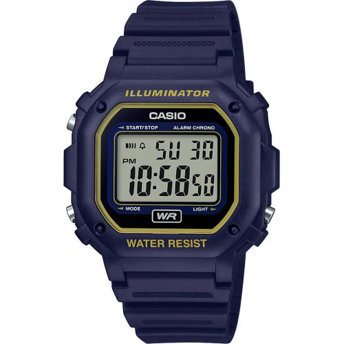 Casio - Montre Casio CASIO COLLECTION F-108WH-2A2EF - Montre CASIO COLLECTION Résine Noir Homme - Montre & bijou